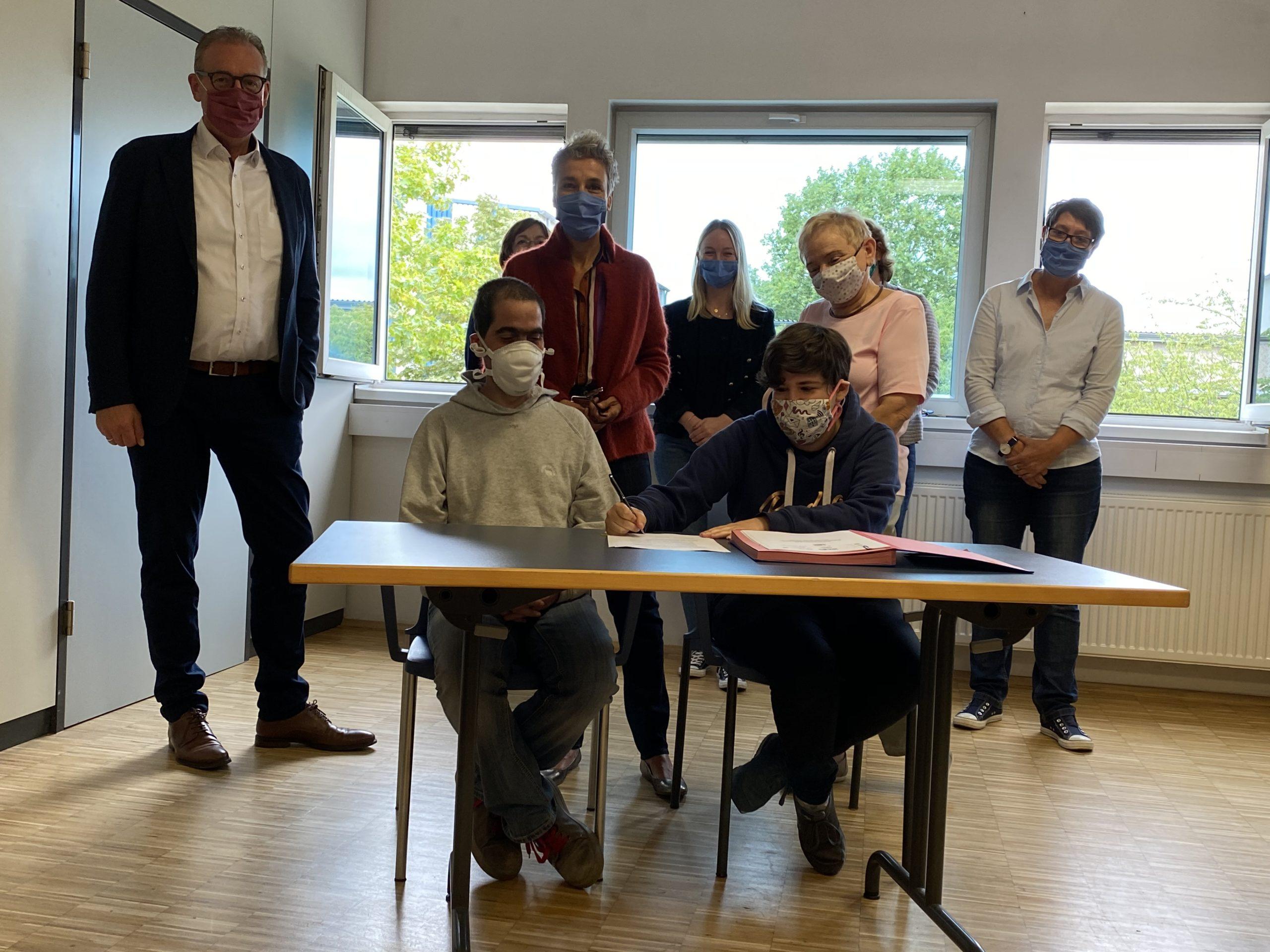 Bonner Werkstätten unterschreiben Rahmenvereinbarung zum Gewaltschutz